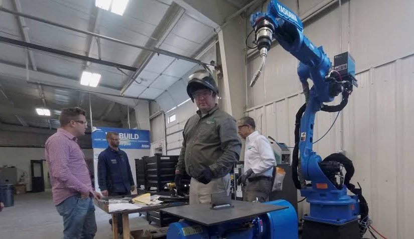 Video: Robotic Welding Arm Installation