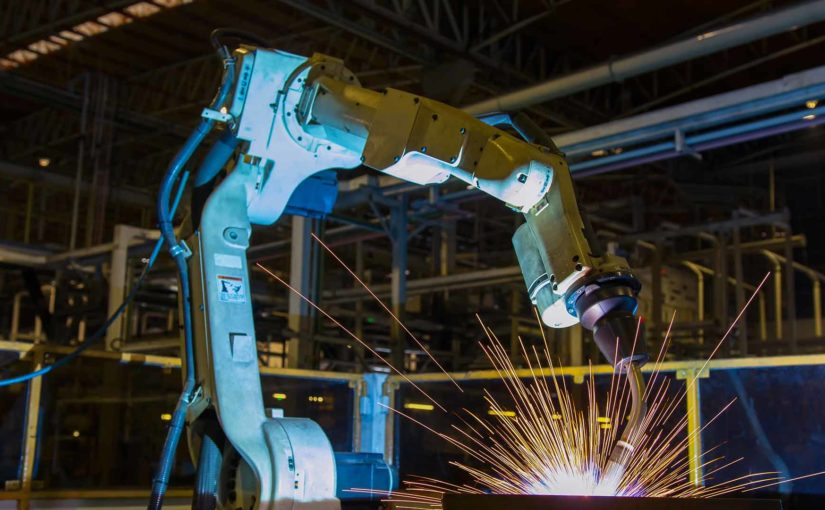 robotic welding arm